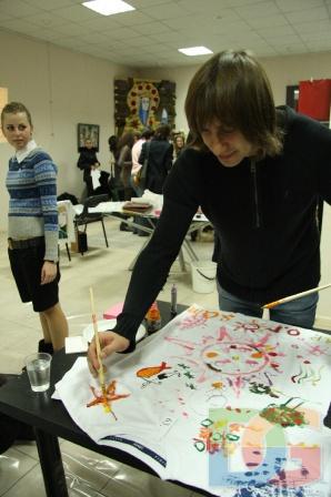 Малюємо разом з групою С.К.А.Й.